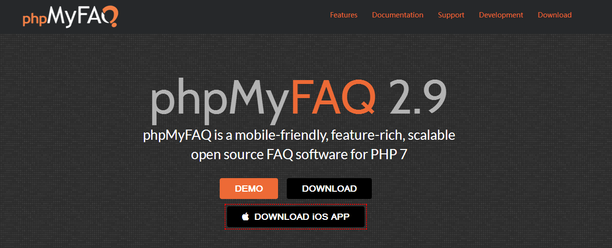 PHPmyfaq程序